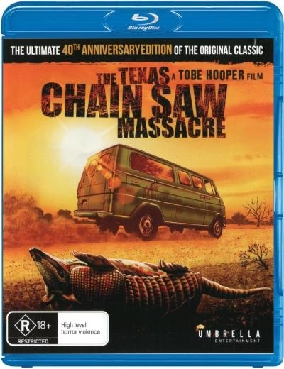 The Texas Chainsaw Massacre: 40th Anniversary Edition on Blu-ray image