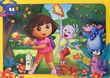 Dora 35 Piece Frame Tray Puzzle - Rock 'n Roll