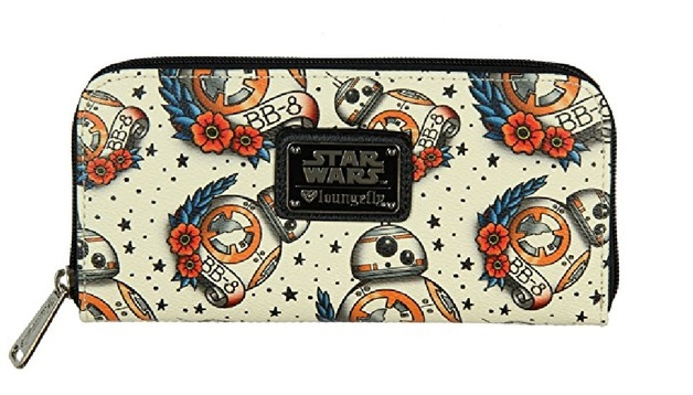Loungefly Star Wars BB-8 Tattoo All Over Print Wallet