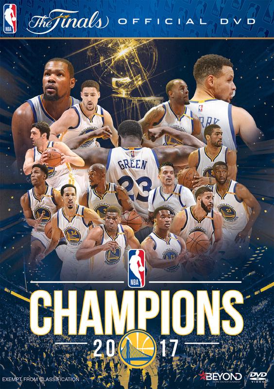 NBA Champions 2017 on DVD
