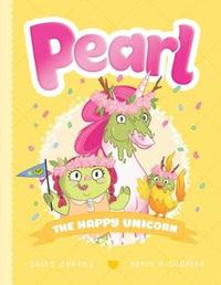 Pearl #4: The Happy Unicorn by Sally Odgers image