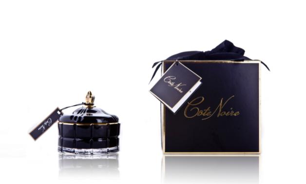 Cote Noire: Art Deco Candle - Black
