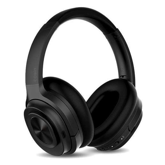 Cowin: SE7 Max Active Noise Cancelling - Wireless Bluetooth Headphones (Black)