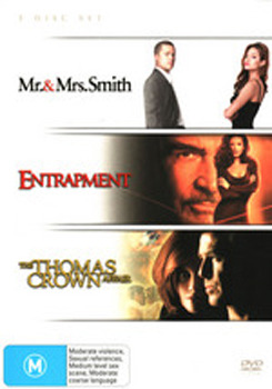 Mr & Mrs Smith / Entrapment / Thomas Crown Affair on DVD