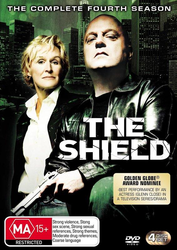 The Shield - Season 4 on DVD