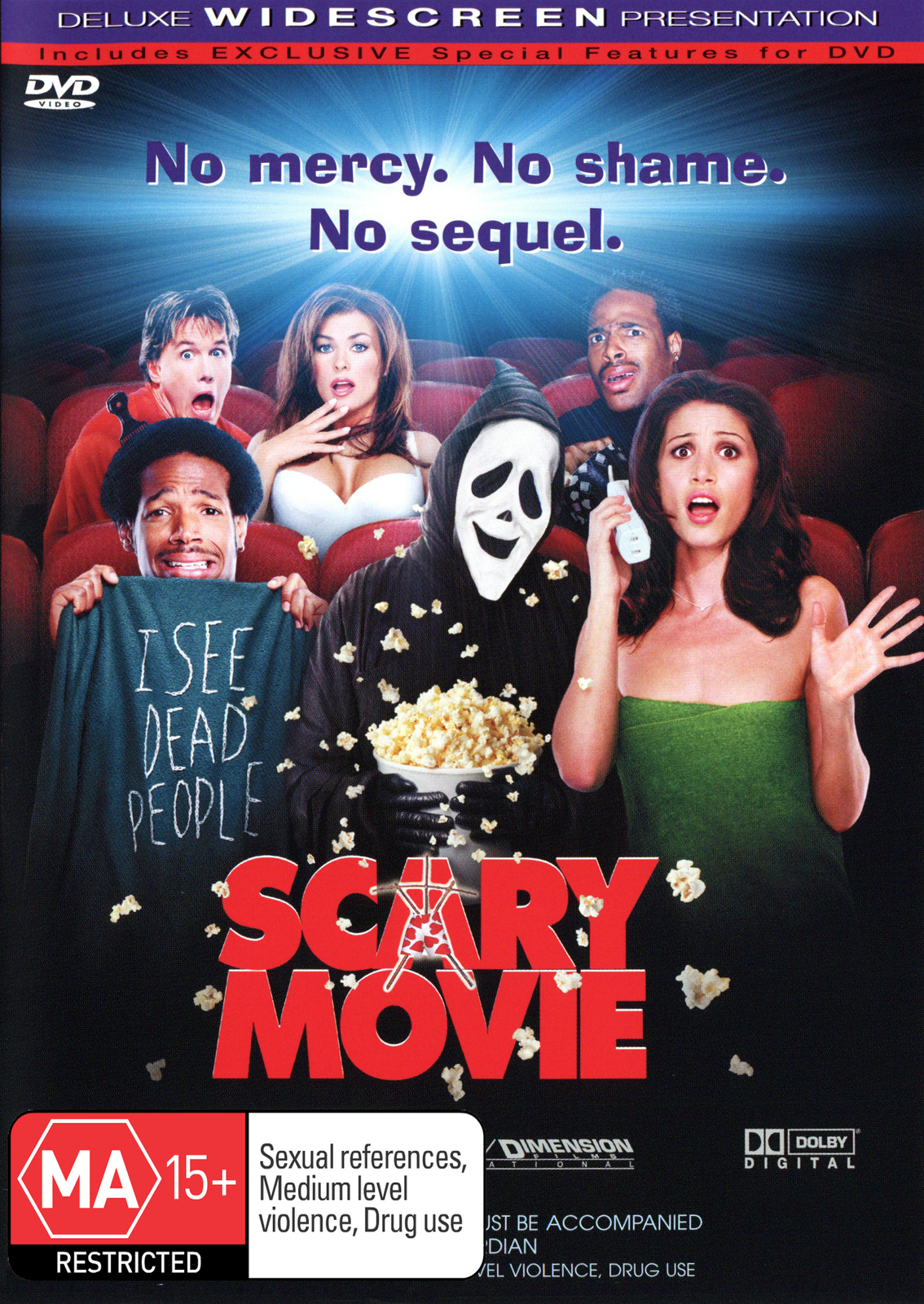 Scary Movie on DVD image