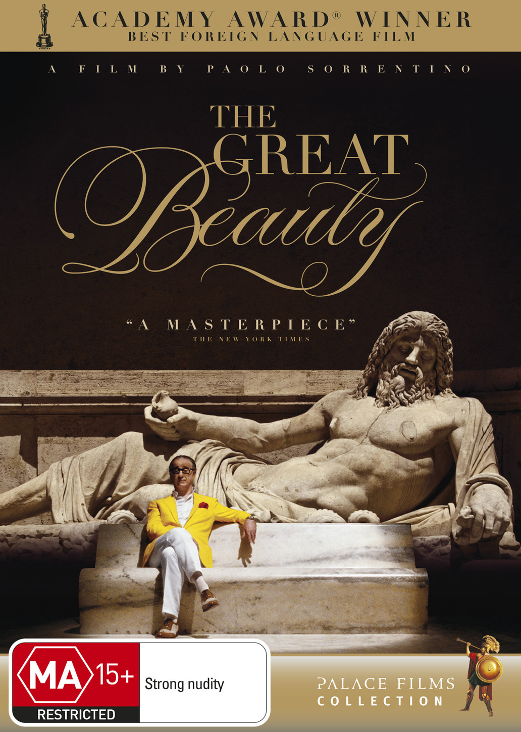 The Great Beauty on DVD image