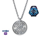Doctor Who Seal of Rassilon Pendant Necklace