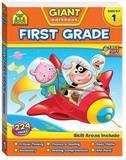 School Zone Giant First Grade Workbook