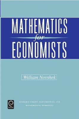 Mathematics for Economists image