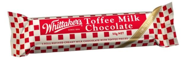 Whittakers Toffee Milk Chunks BULK