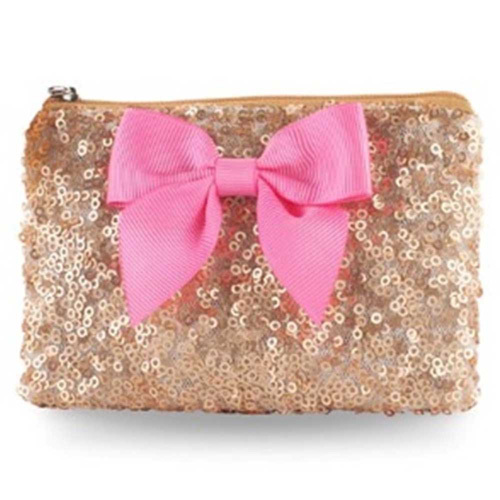 Pink Poppy: Forever Sparkle Coin Purse - (Yellow)