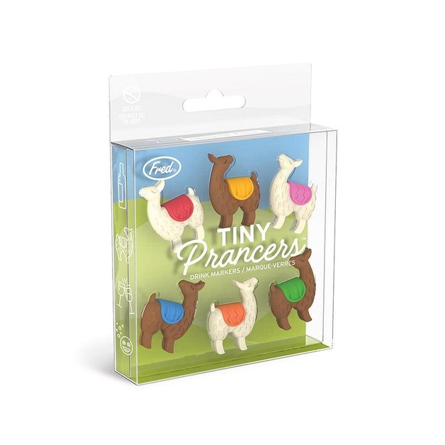 Fred: Tiny Prancers - Llama Drink Markers (set of 6)