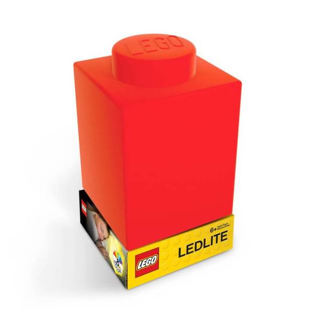LEGO Silicone Night Light - Red Brick