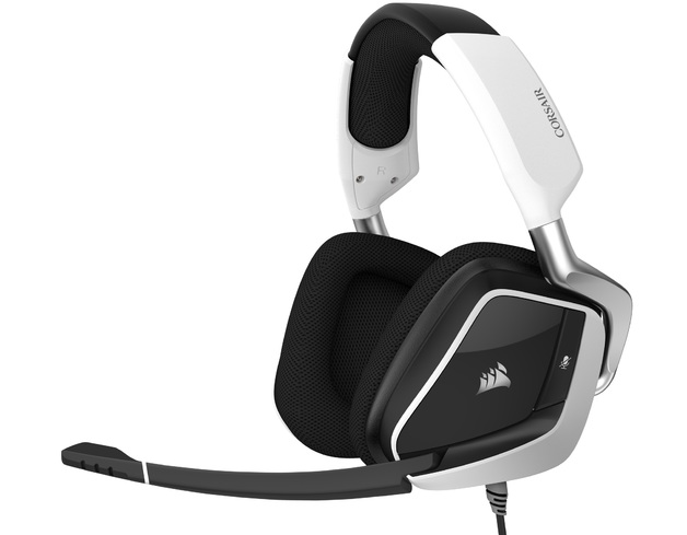 Corsair Void Elite RGB USB Gaming Headset (White) for PC