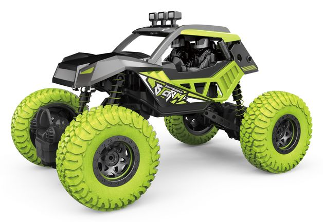 Rusco R/C 1:16 Metal Rock Crawlers - Green
