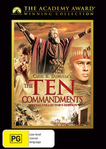 Ten Commandments, The - Special Collector's Edition (Academy Award Winning Collection) (2 Disc Set) on DVD