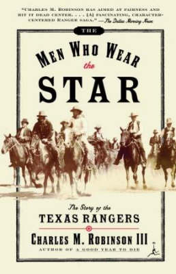 Men Who Wear the Star by Charles M Robinson, III image