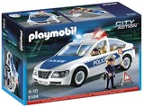 Playmobil - Police Car with Flashing Light (5184)