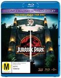 Jurassic Park 3D DVD
