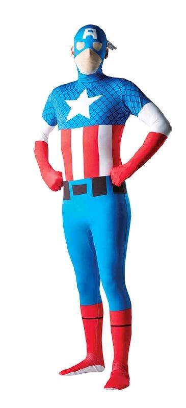 2nd Skin Captain America Costume (XL)