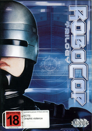 Robocop / Robocop 2 / Robocop 3 (3 Disc Set) on DVD