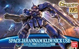 Gundam HG Jahanam Type Space Klim Nick 1/144 Model Kit