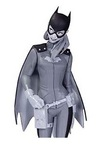 Batman Black & White Batgirl Statue 7""