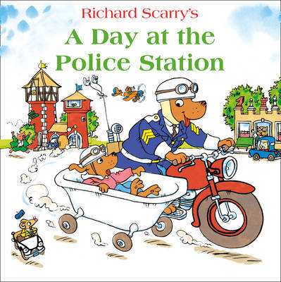 A Day at the Police Station by Richard Scarry