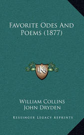 Favorite Odes and Poems (1877) by Andrew Marvell