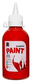 EC Colours - 250ml Rainbow Acrylic Paint - Brilliant Red