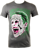Suicide Squad Joker Face T-Shirt (Small)