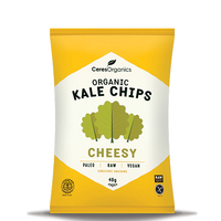 Ceres Organics Kale Chips (Cheesy, 40g)