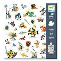 Djeco: 160pc Stickers Set (Knights)