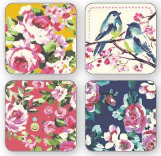 Cooksmart Table Coasters - Oriental Patchwork image