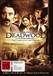 Deadwood - The Complete First Season on DVD