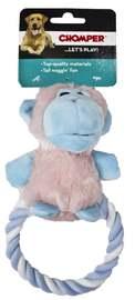 Chomper Puppy Plush Rope Ring Monkey