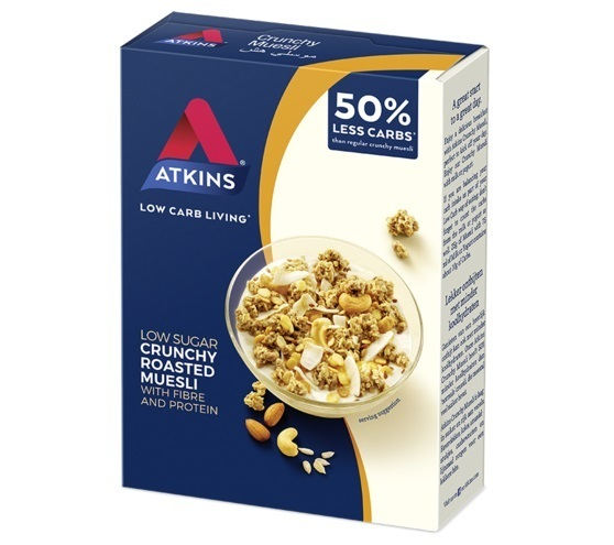 Atkins Low Carb Muesli 325g (6 Pack) image