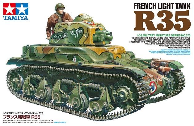 Tamiya 1/35 French Light Tank R35 - Model Kit