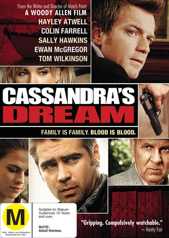 Cassandra's Dream on DVD