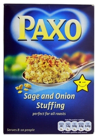 Paxo Sage and Onion Stuffing Mix (170g)