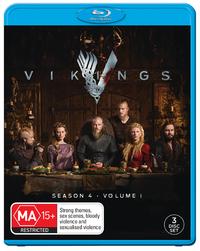 Vikings: Season 4 - Volume 1 on Blu-ray