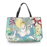 Loungefly Disney Alice and Queen of Hearts Tote