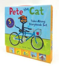 Pete the Cat Take-Along Storybook Set by James Dean