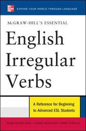 McGraw-Hill's Essential English Irregular Verbs by Mark Lester image