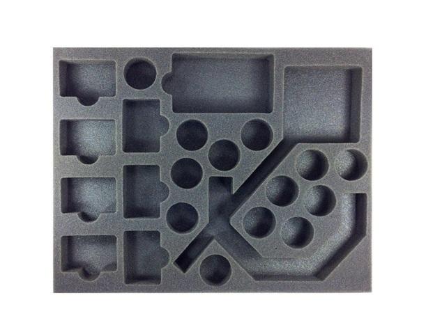 "Battle Foam: Star Wars Armada - Tokens & Extra Cards Foam Tray (BFL - 1.5"")"