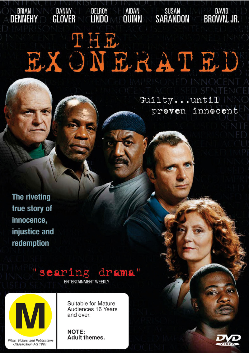 The Exonerated on DVD image