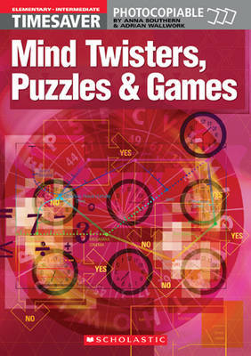 Mind Twisters, Puzzles and Games: Elementary - Intermediate by Adrian Wallwork image