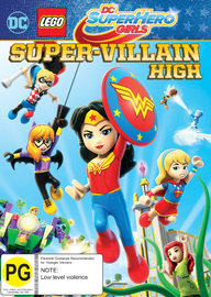 LEGO: DC Super Hero Girls - Super-Villain High on DVD