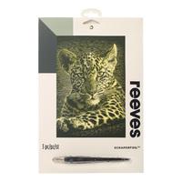Reeves: Gold Scraperfoil - Leopard Cub